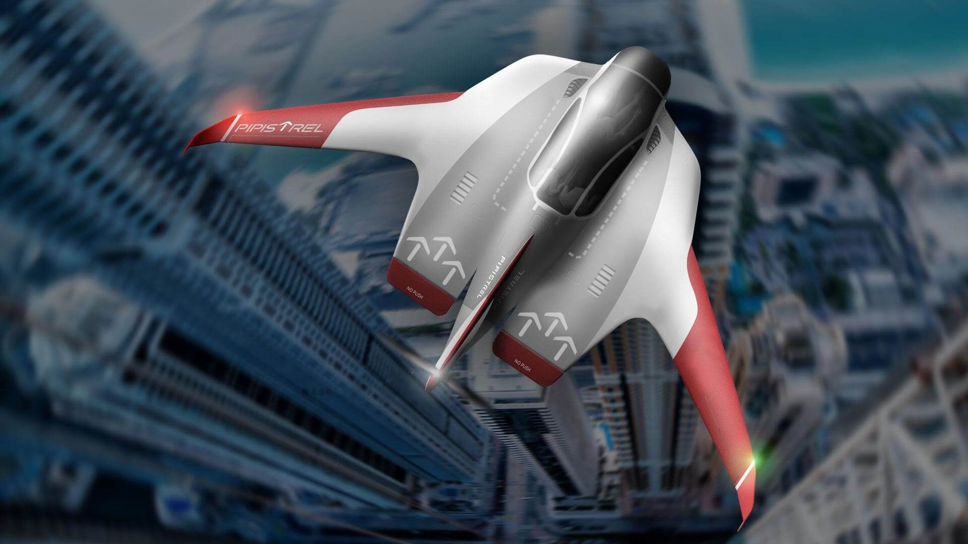 Концепт Pipistrel Reveals Electric eVTOL