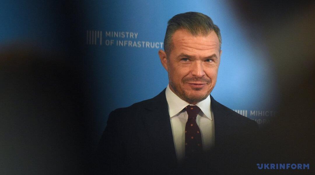 Славомир Новак, глава Укравтодора
