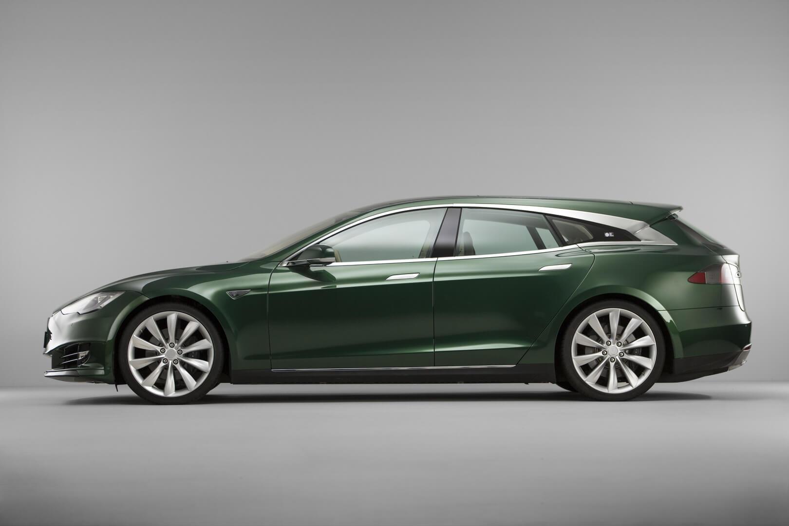 Универсал Tesla Model S — вид 3