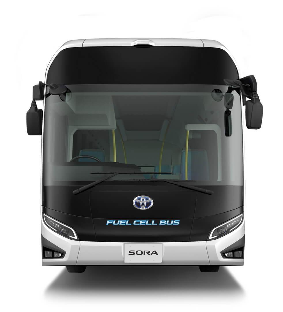 Toyota Sora FC Bus - вид спереди