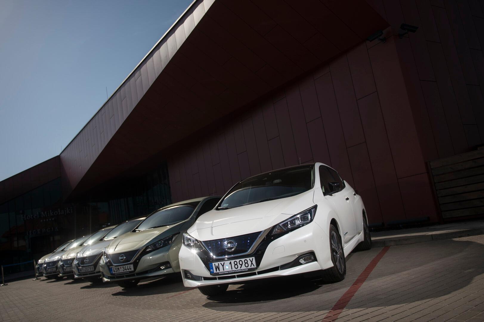 Электромобили Nissan Leaf 2018