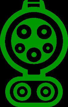 Тип разъема CCS Combo Type 1 для рынка США