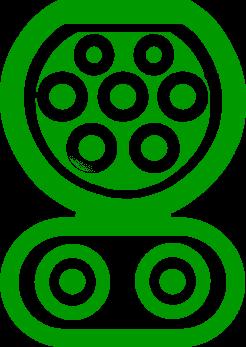 Тип разъема Type 2 CCS Combo