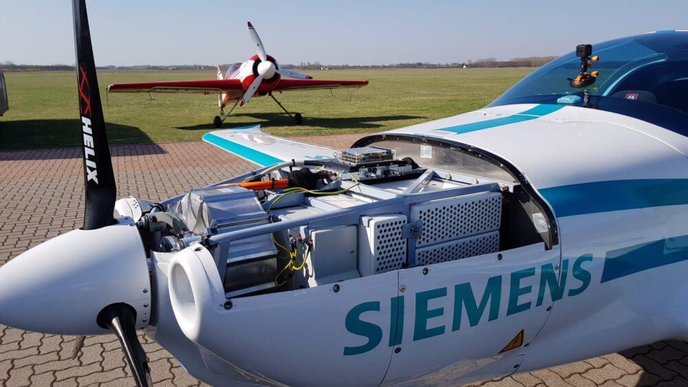 Силовая установка электрического самолета Magnus eFusion