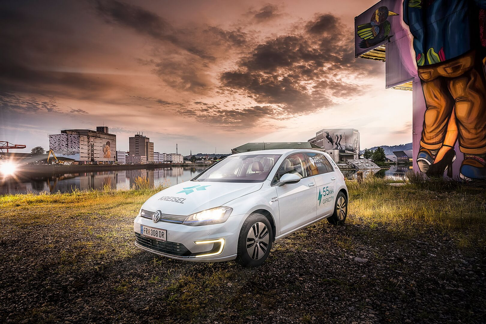 Электромобиль VW e-Golf получил новый аккумулятор от Kreisel Electric