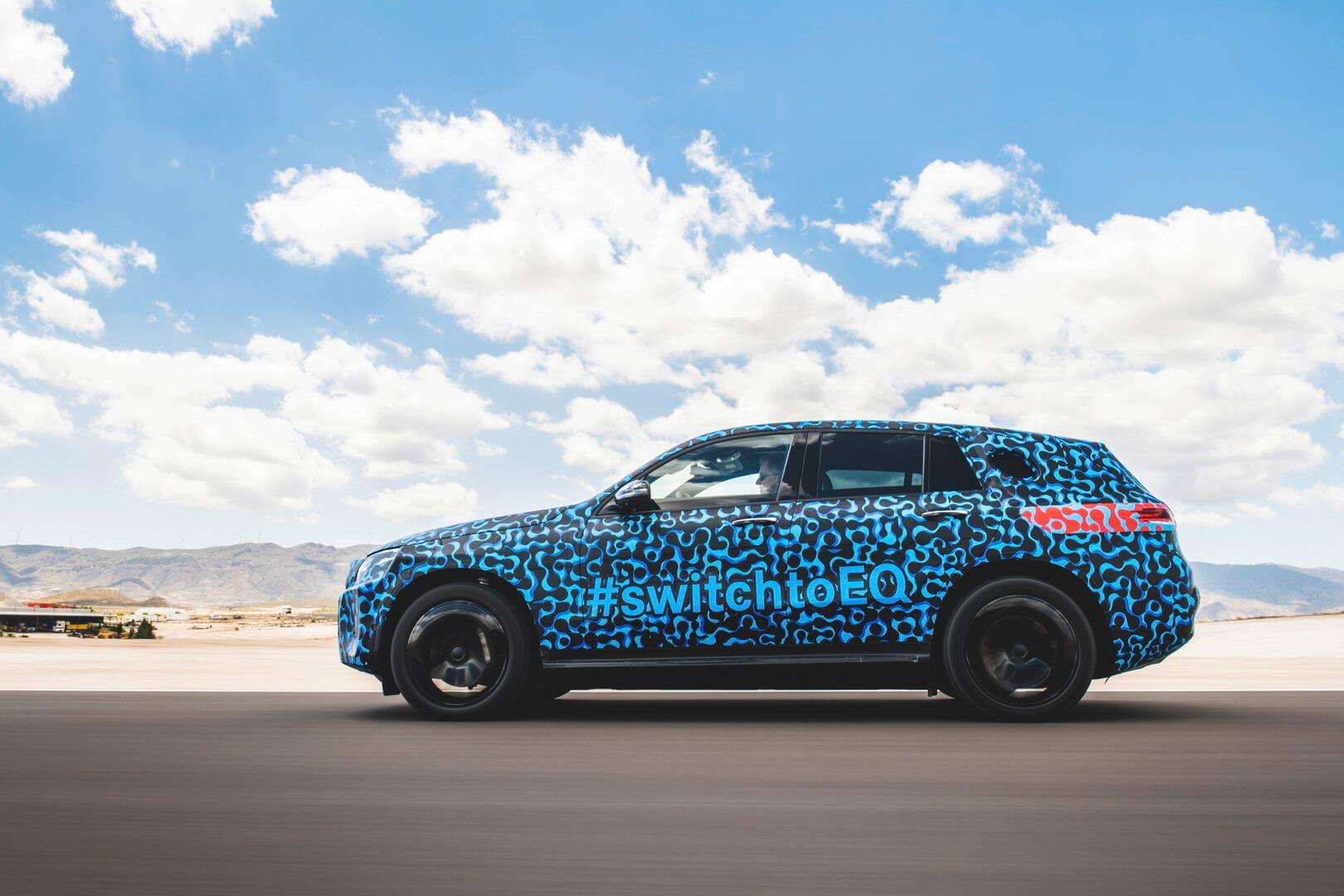 Тестируемый Mercedes-Benz EQC