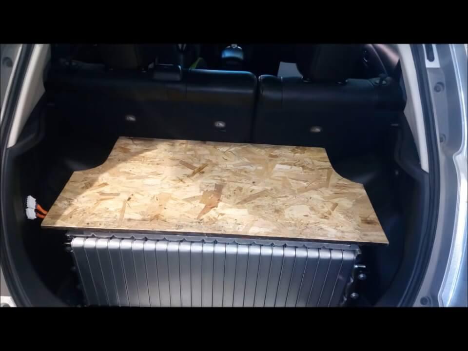 Модернизация электромобиля Nissan Leaf до двух батарей — 3