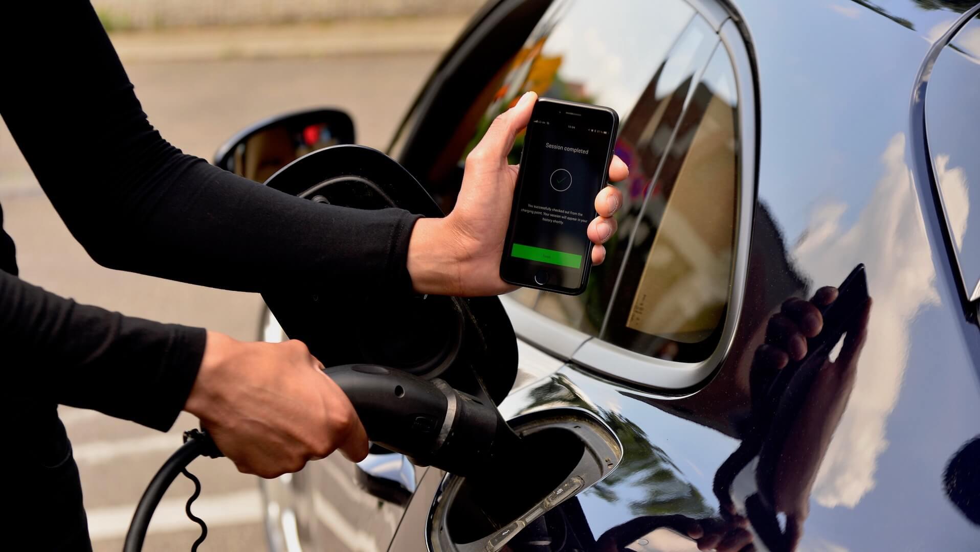 Приложение для удобного поиска зарядных станций «Porsche Charging Service»