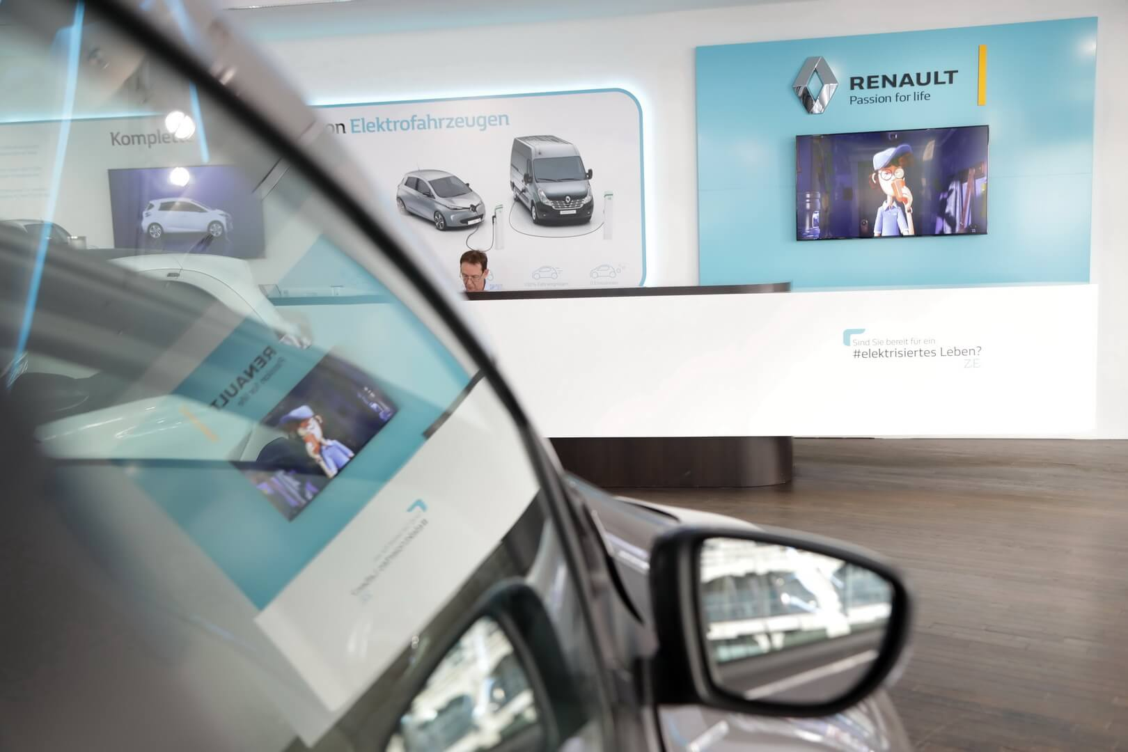 Центр электромобилей Renault в Берлине