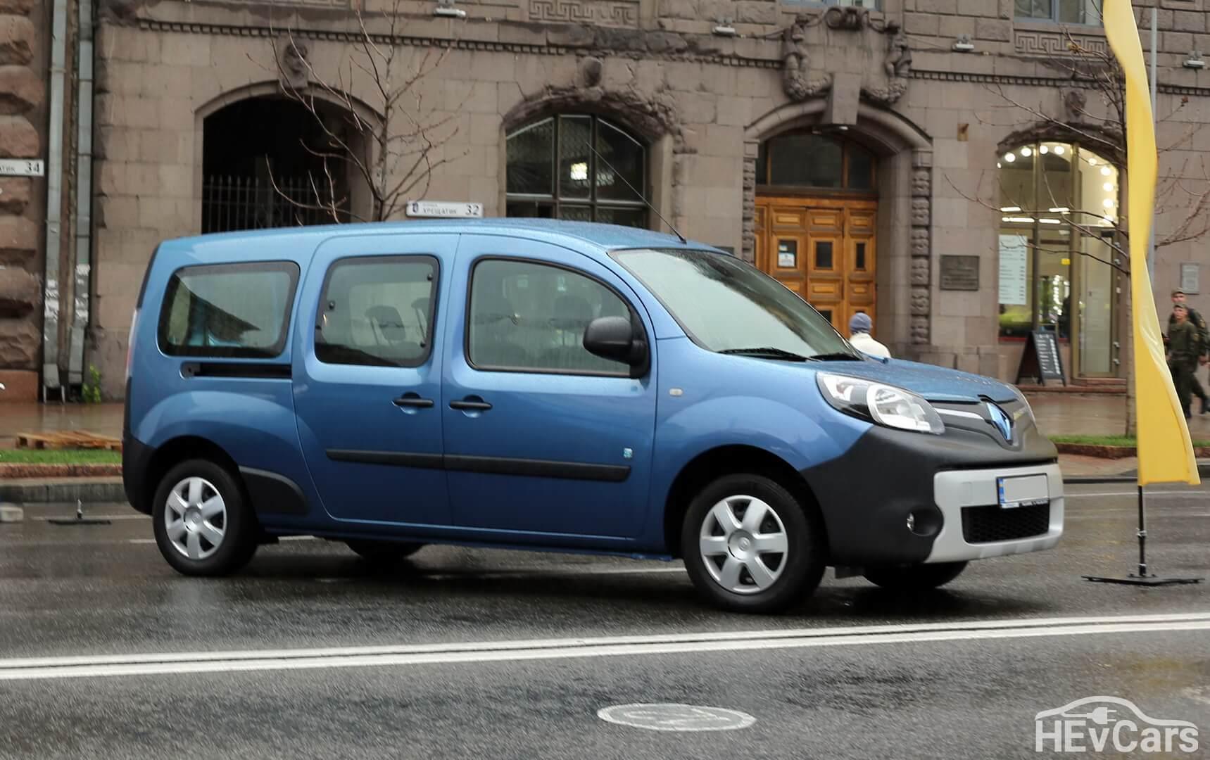 Электрофургон Renault Kangoo Z.E.