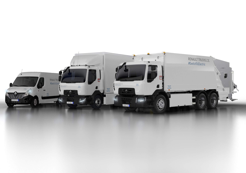Электрогрузовики Renault Z.E.: Master, Trucks D и Trucks D Wide