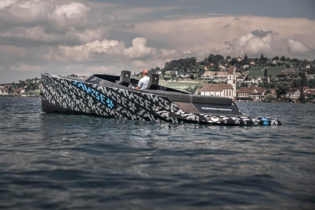Электрическая лодка SAY29E