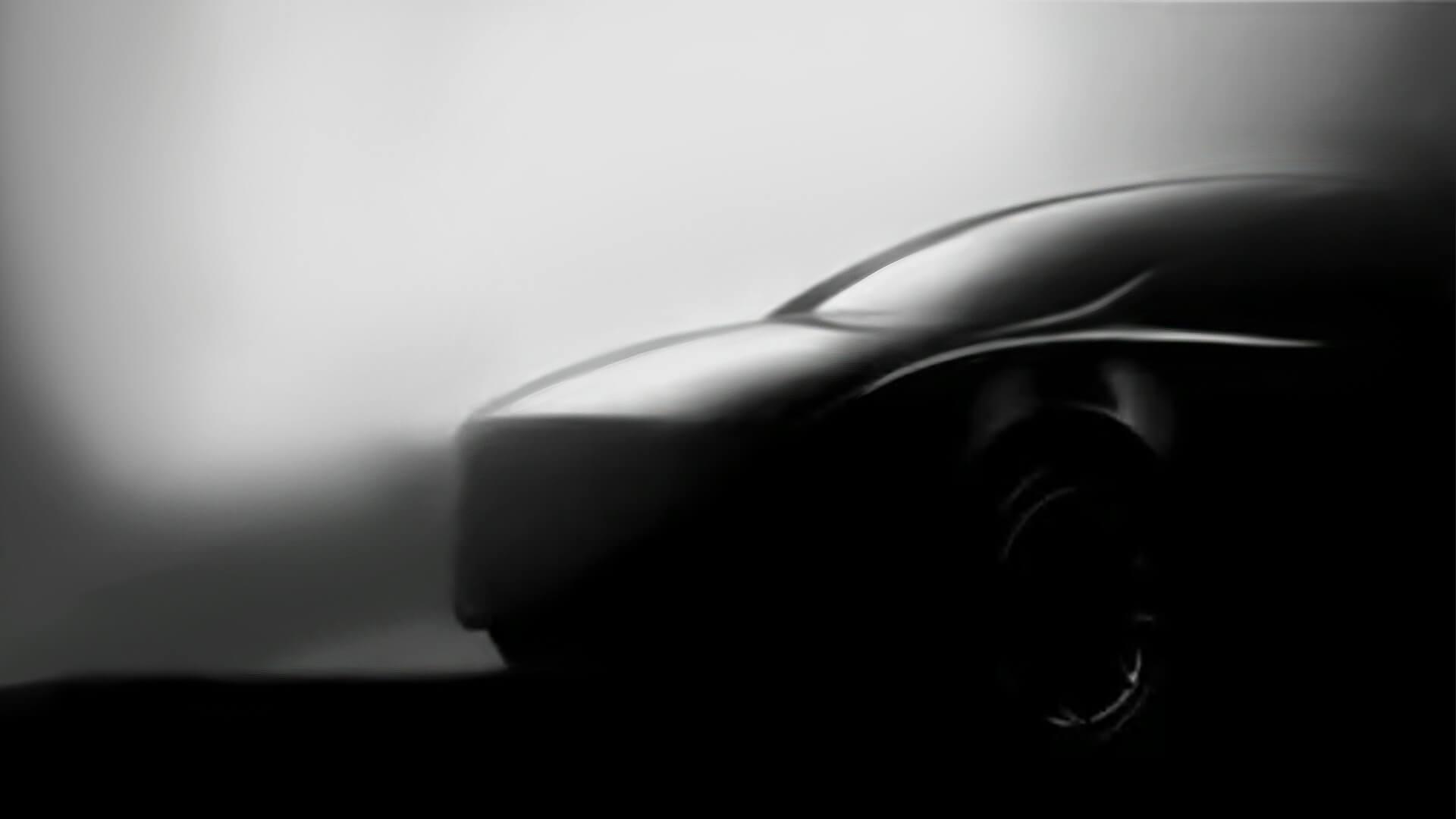 Тизер электрокроссовера Tesla Model Y