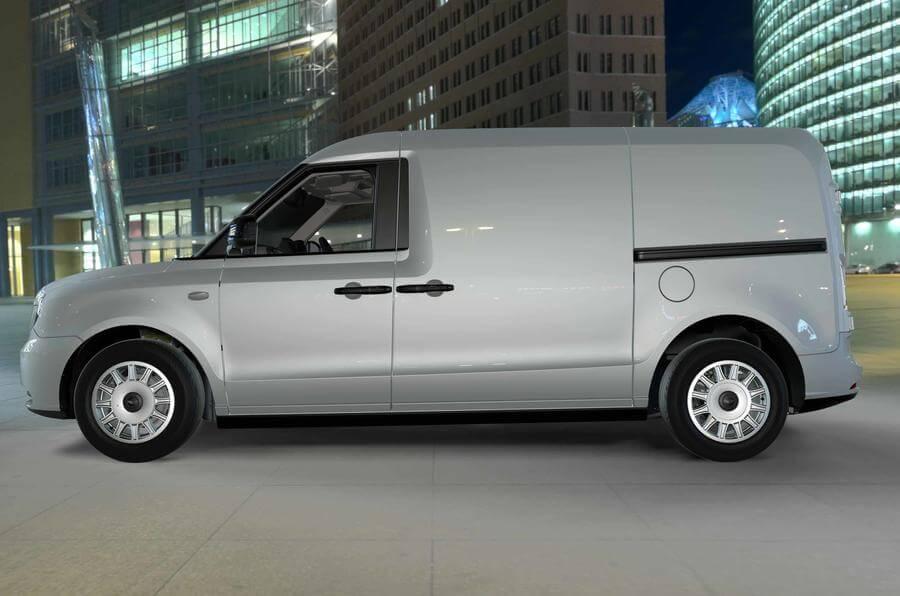 Гибридный фургон LEVC TX