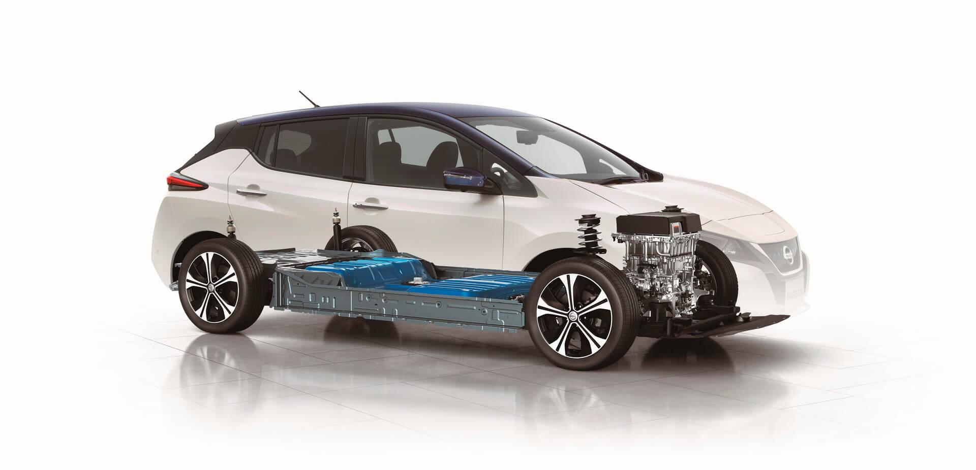 Силовая установка Nissan Leaf второго поколения
