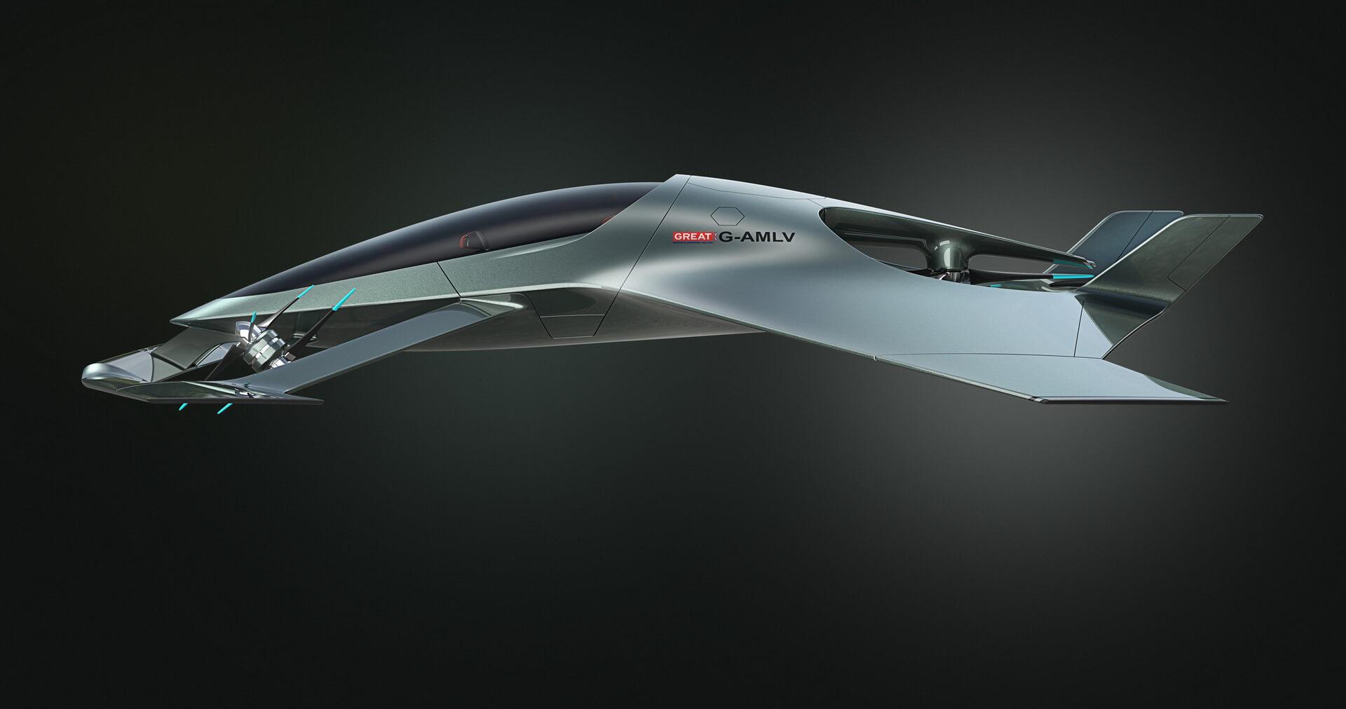 Aston Martin Volante Vision Concept — фото 3