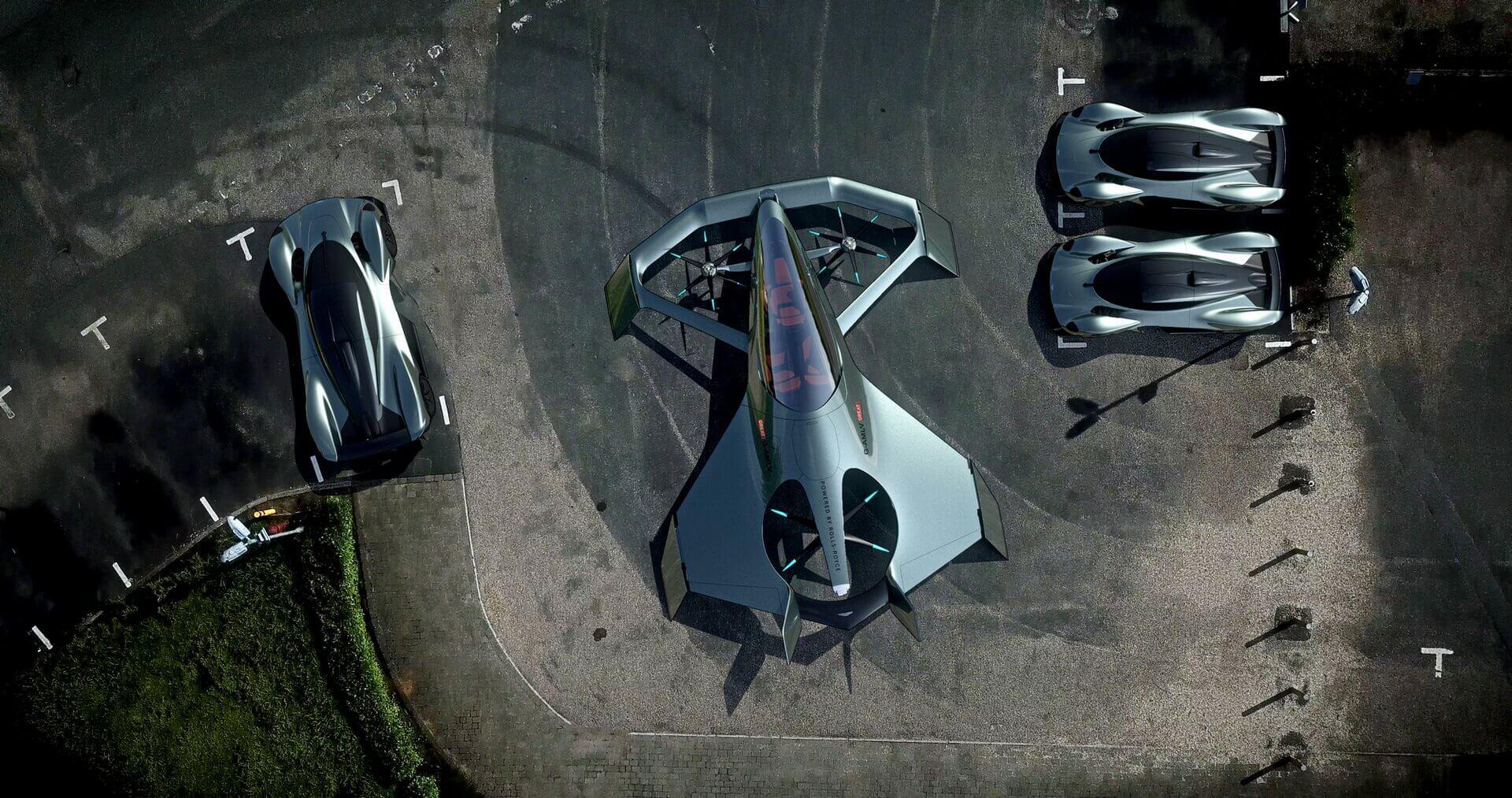 Концепт Aston Martin Volante Vision