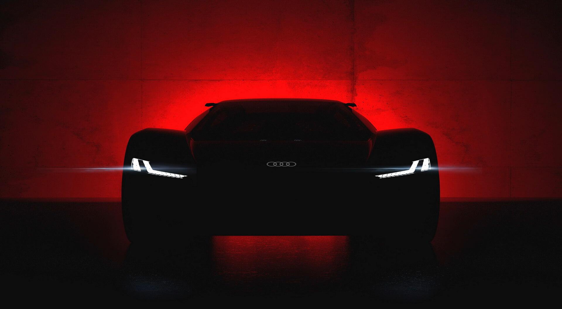 Концепт электрического спорткара Audi PB 18 e-tron