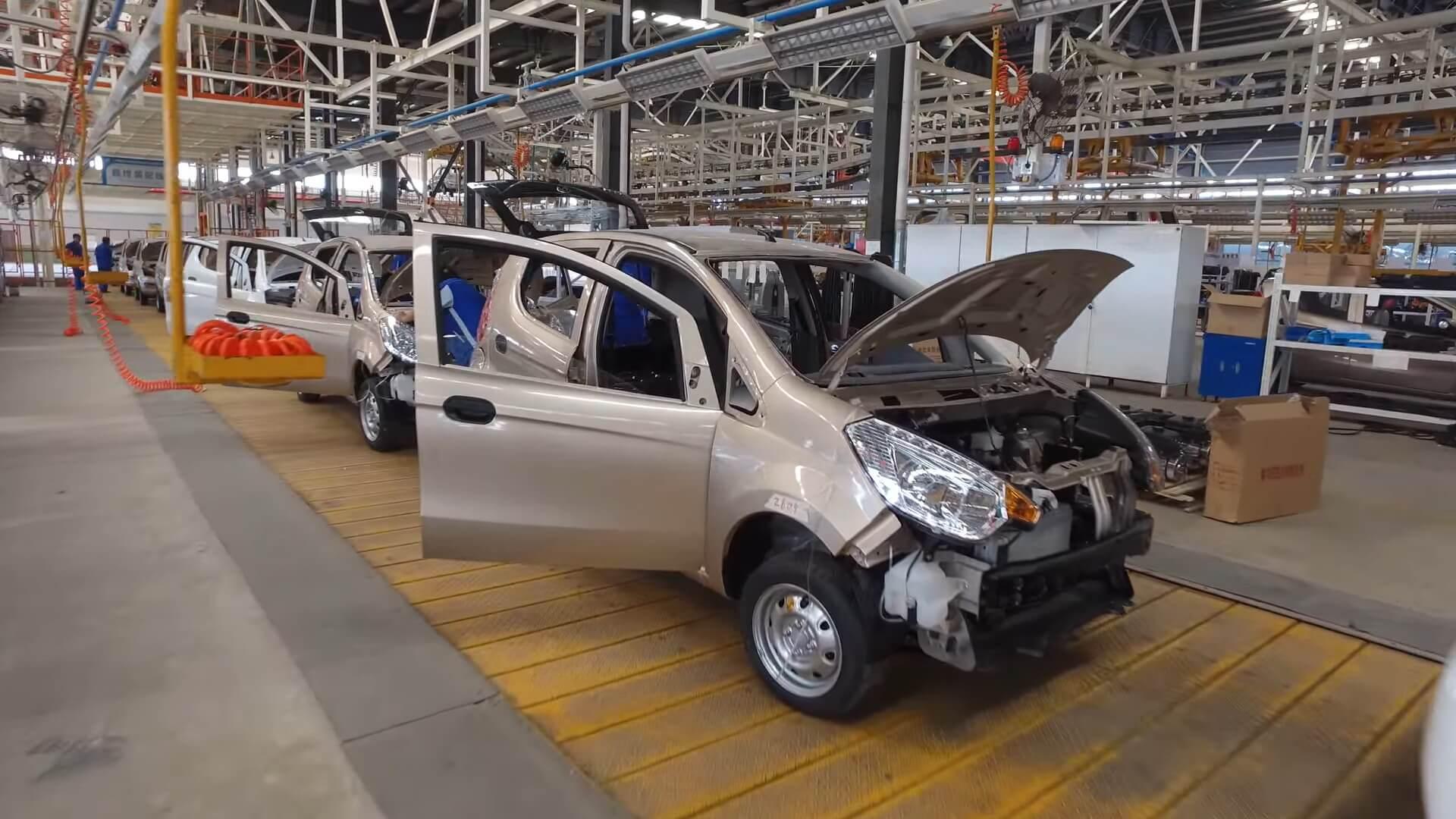 Производство автомобилей в Китае