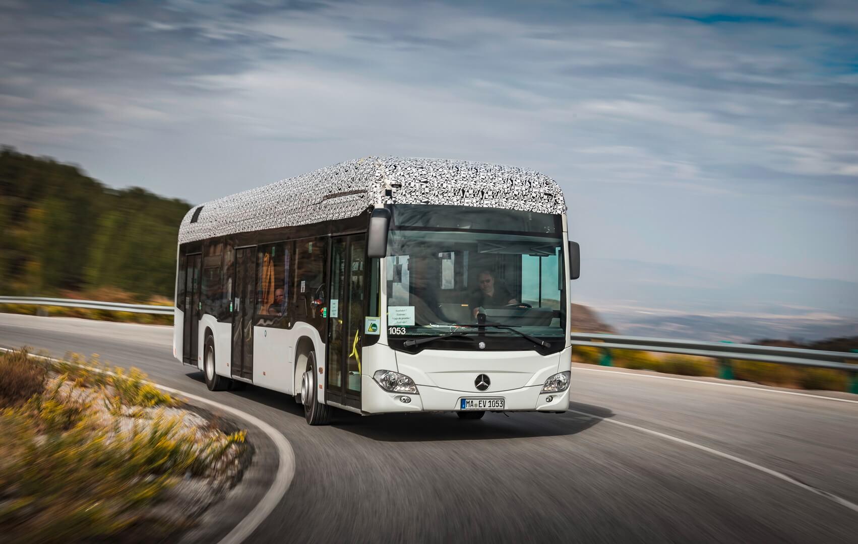 Электрический автобус Mercedes-Benz Citaro