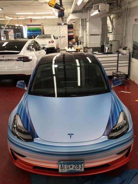Tesla Model 3символизирует изменения климата — фото 2
