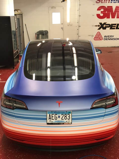 Tesla Model 3символизирует изменения климата — фото 4