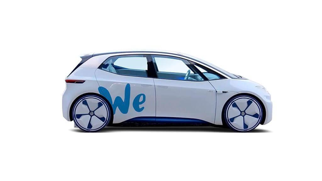 Концепт Volkswagen I.D. на платформе WE