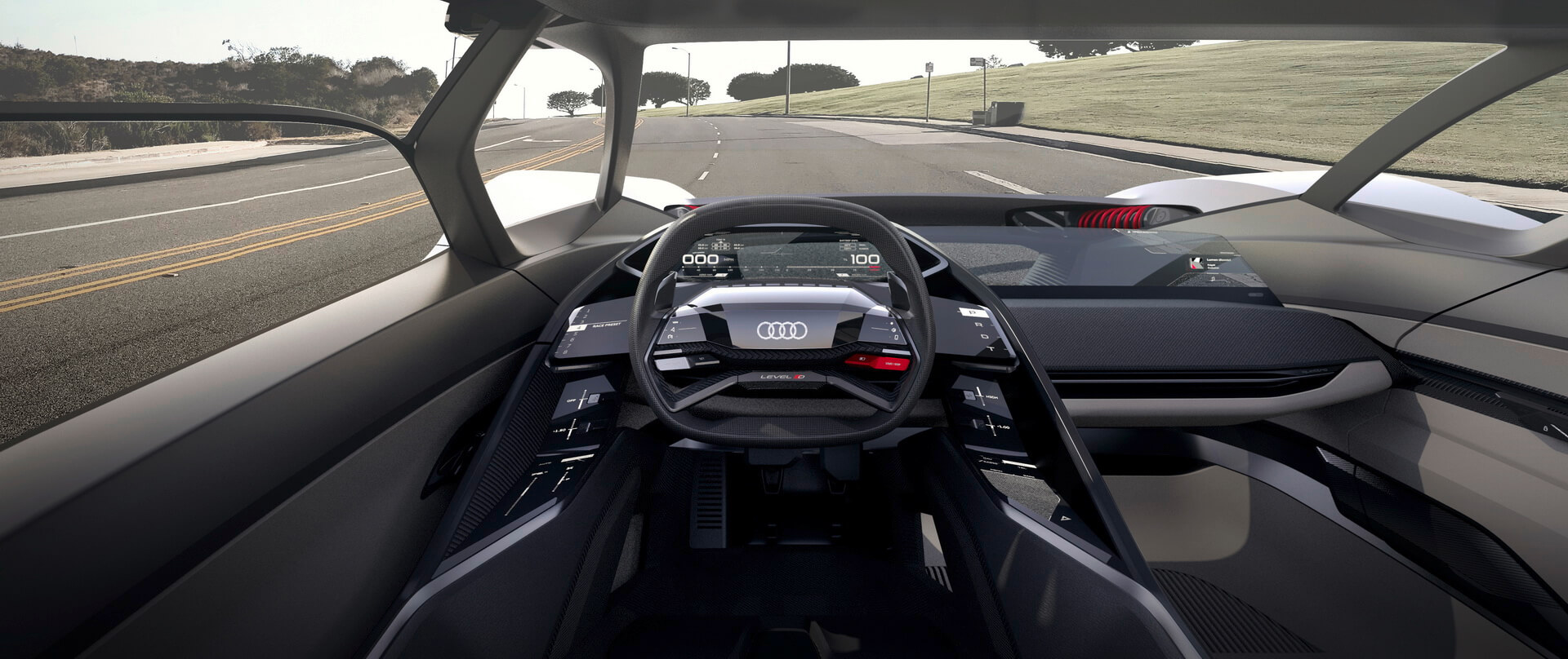 Приборная панель Audi PB18 e-tron