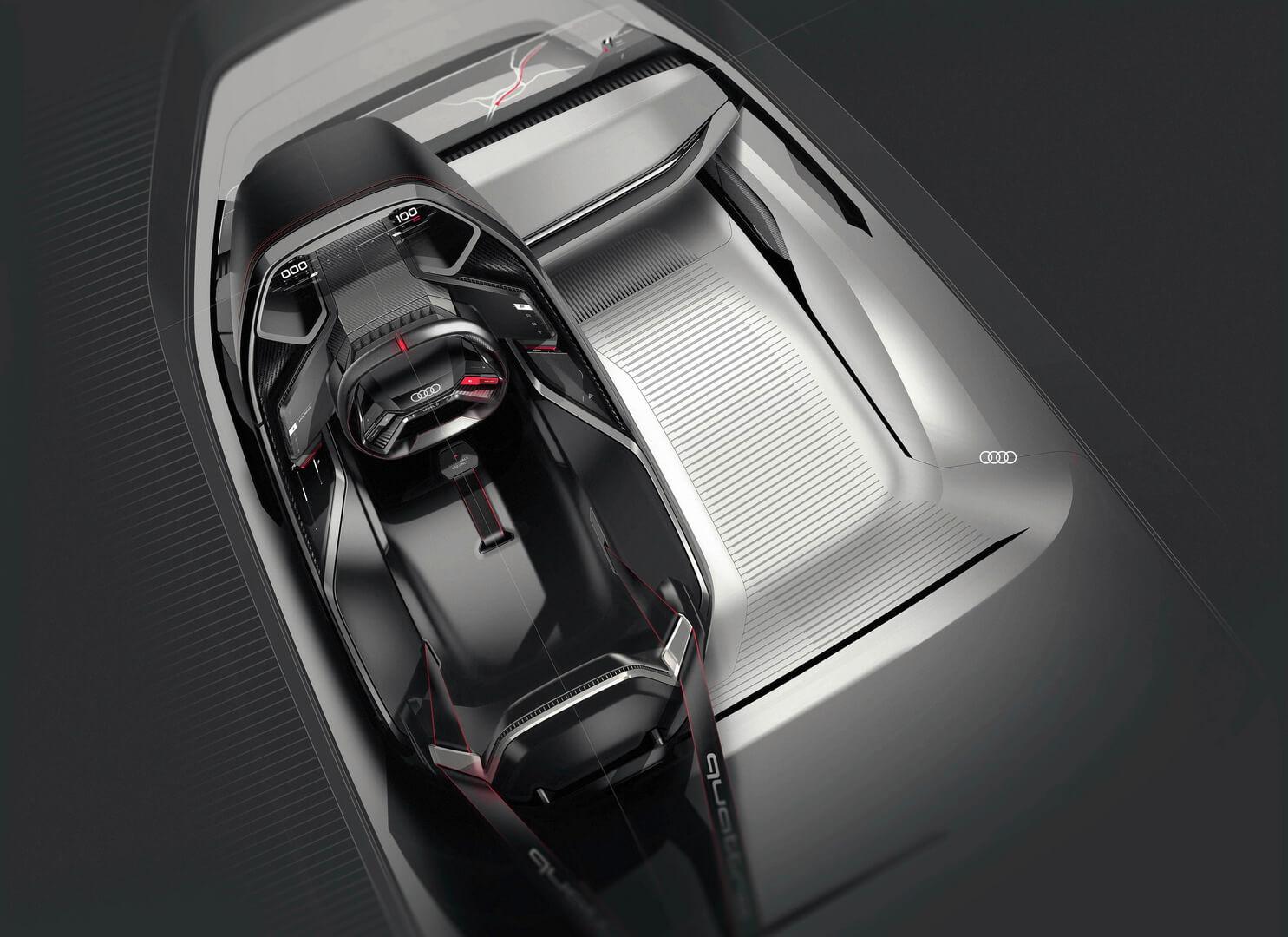Интерьер Audi PB18 e-tron