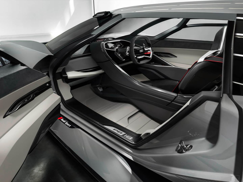 Интерьер Audi PB18 e-tron — фото 2