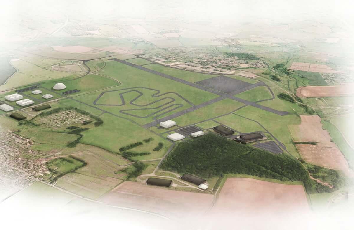 Dyson переоборудует военную базу в трековый полигон для тестирования электромобилей