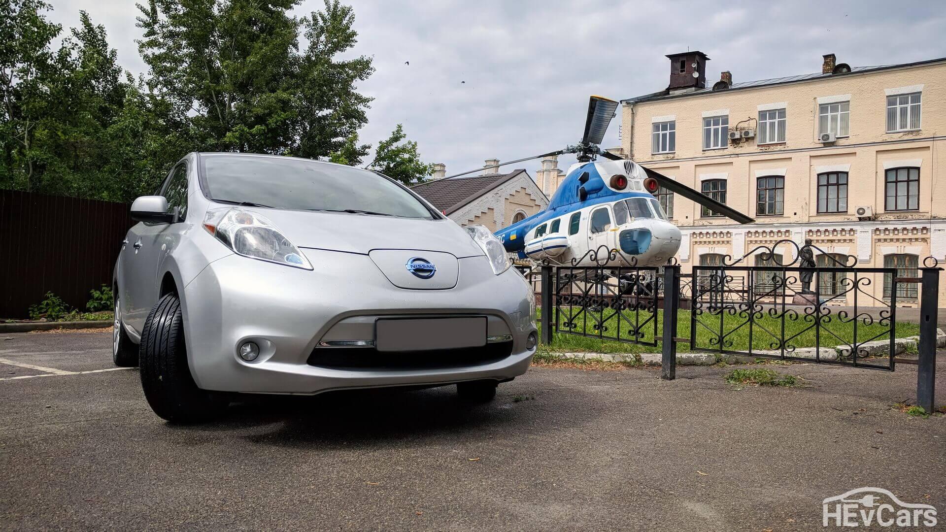 Nissan Leaf по-прежнему самый популярный электромобиль вУкраине