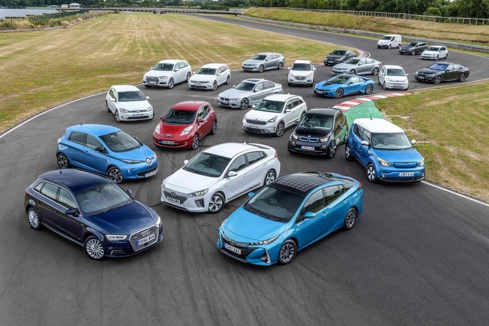 Электрические и плагин-гибридные автомобили
