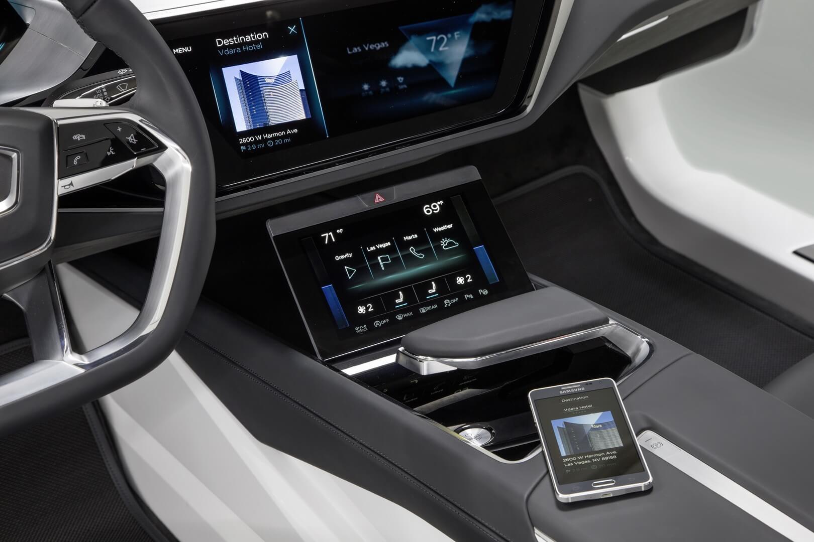 Технологии OLED вAudi e-tron quattro