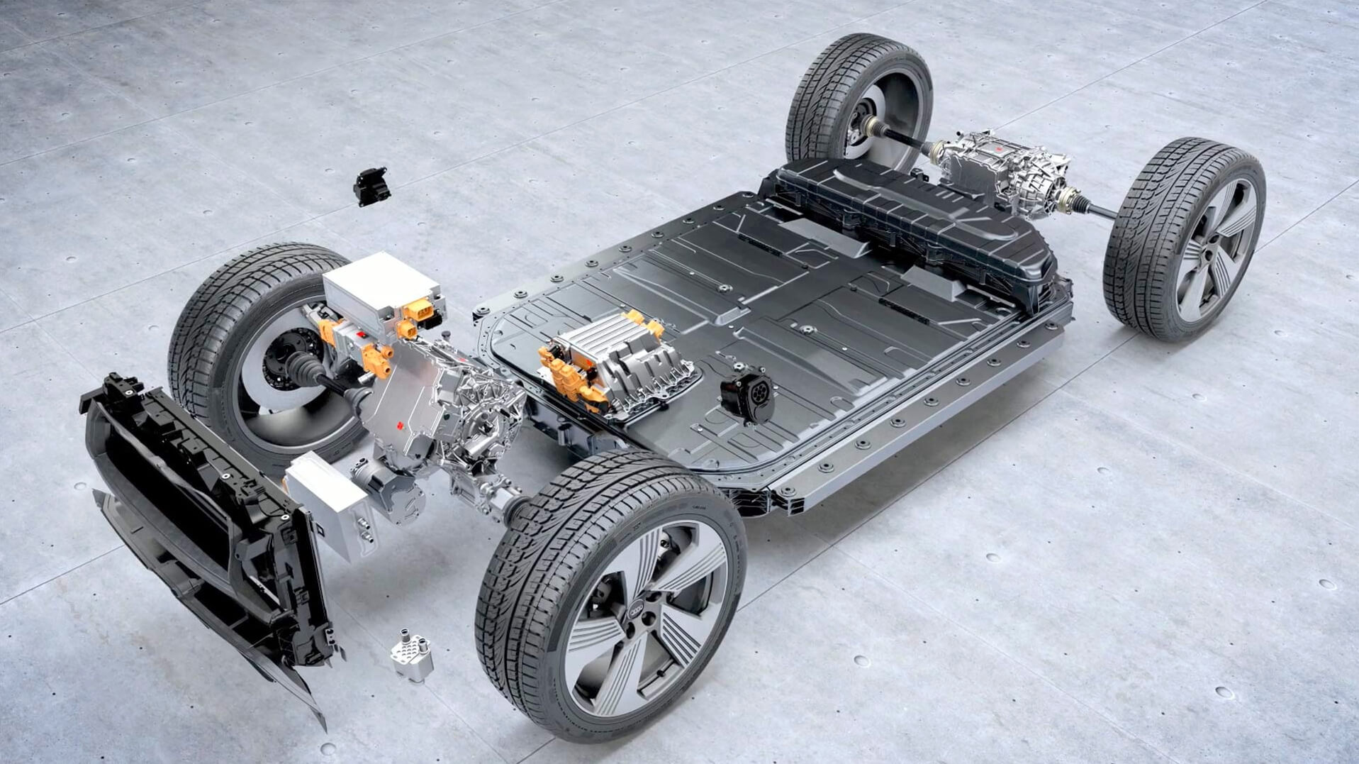 Аккумуляторная батарея LG Chem в Audi e-tron quattro