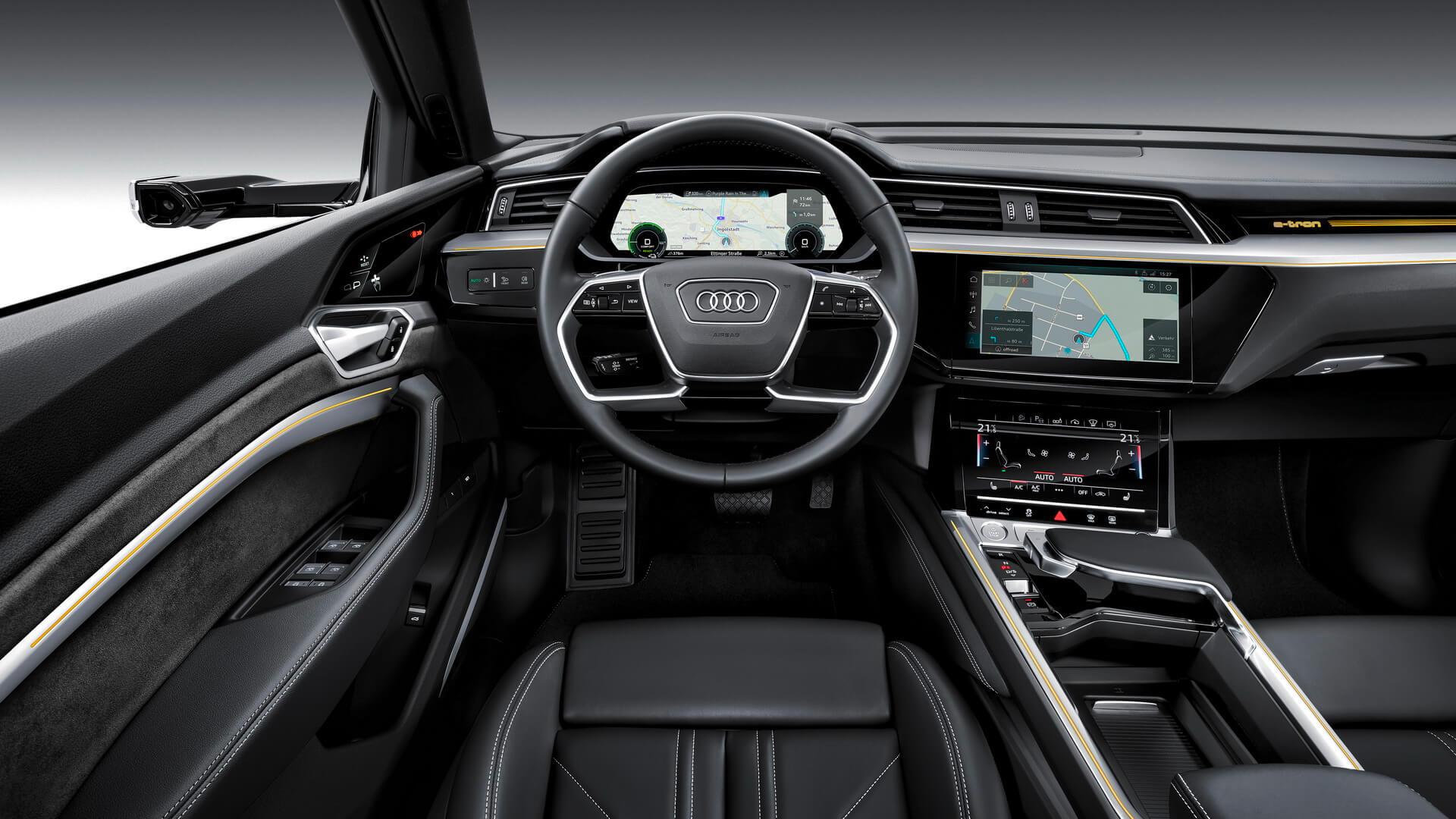 Фотография экоавто Audi e-tron 55 quattro - фото 26