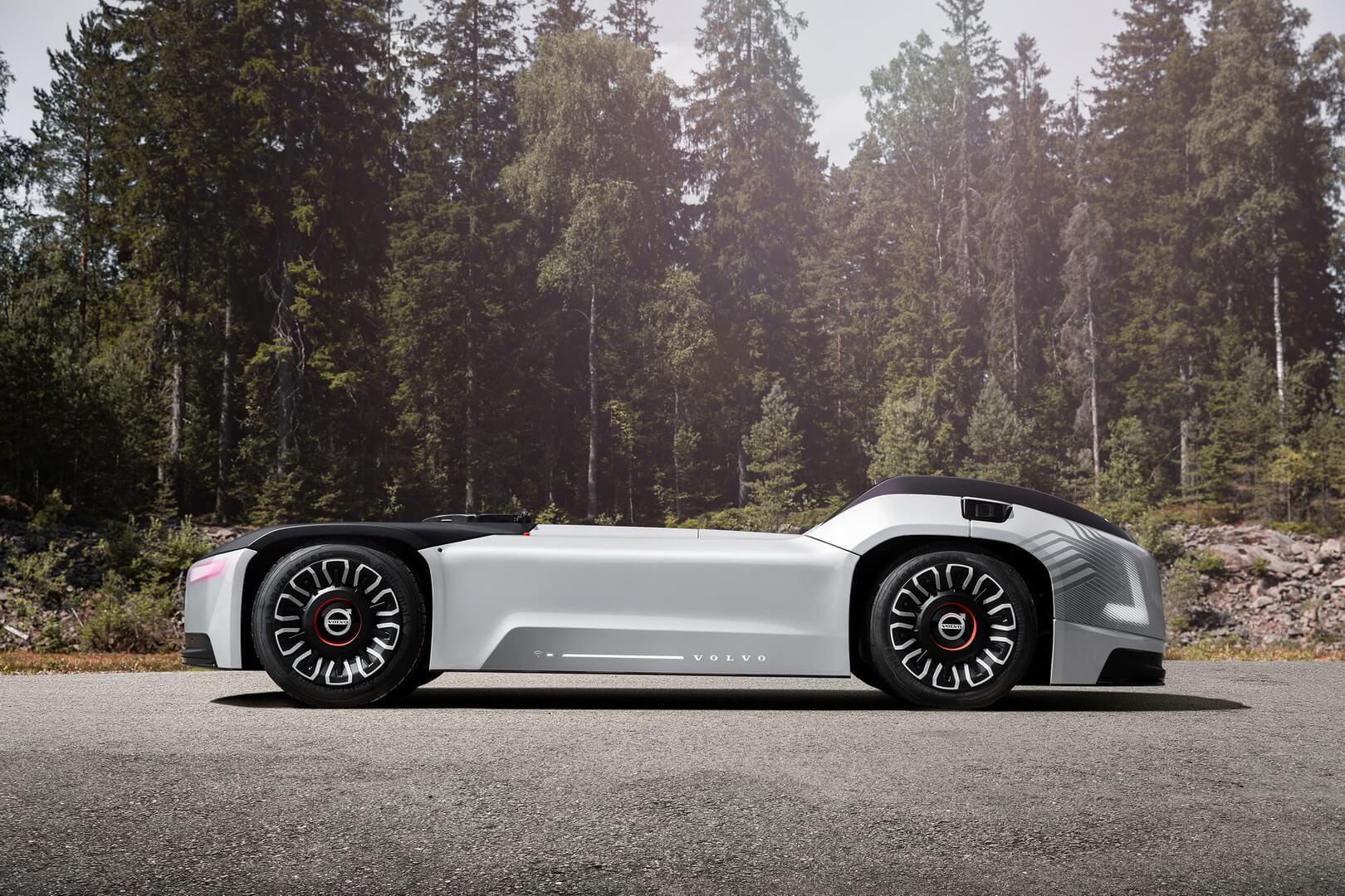 Volvo представила автономный электрогрузовик Vera