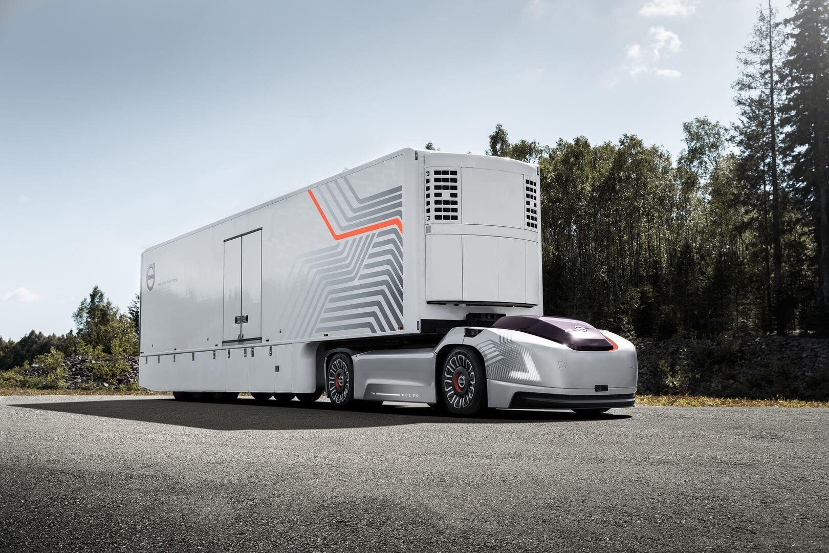 Volvo представила автономный электрогрузовик Vera без водительской кабины
