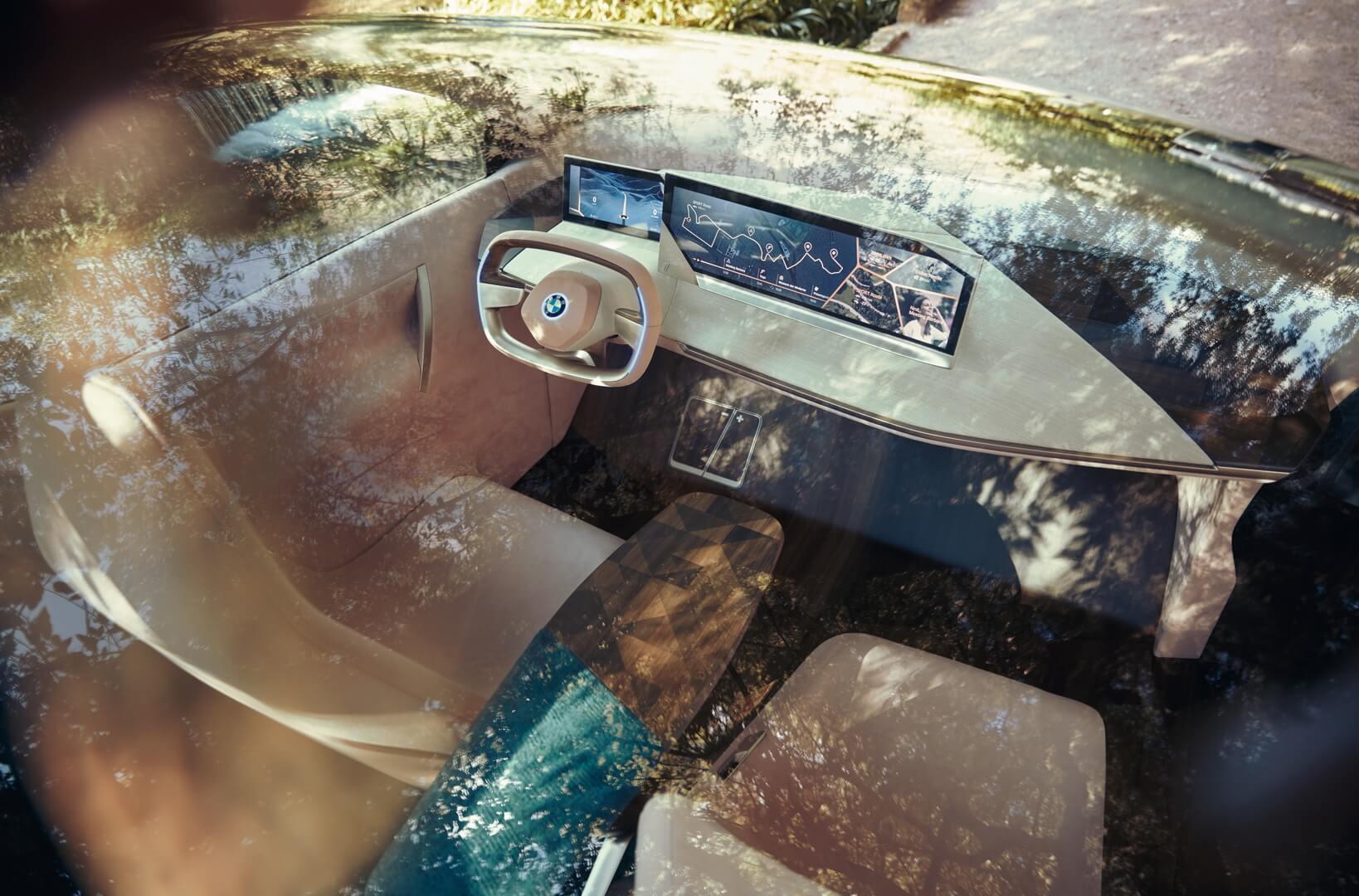 Интерьер BMW Vision iNEXT