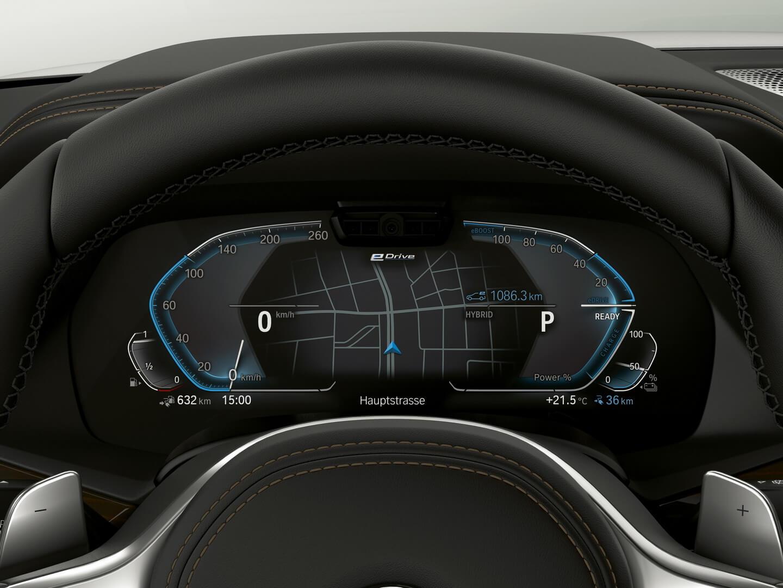 Спидометр и навигация BMW X5xDrive45e PHEV