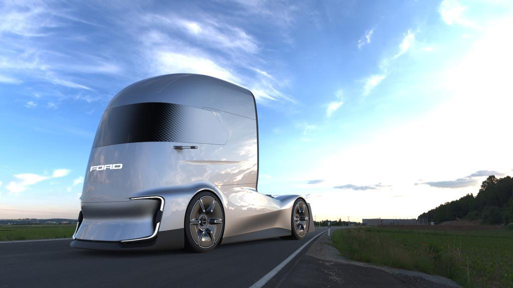 Электрогрузовик F-Vision Future Truck