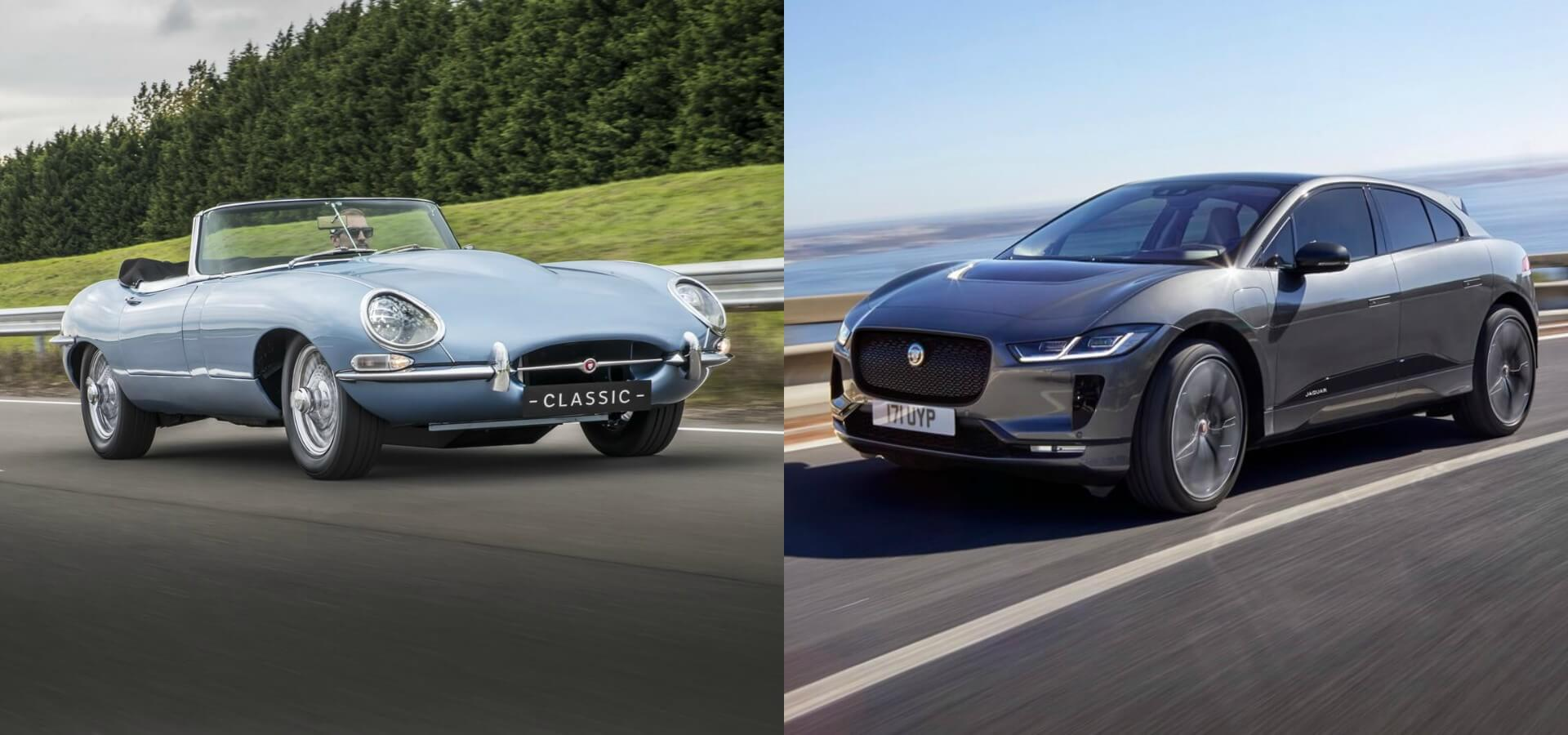 Электрический Jaguar E-type Zero и Jaguar I-Pace