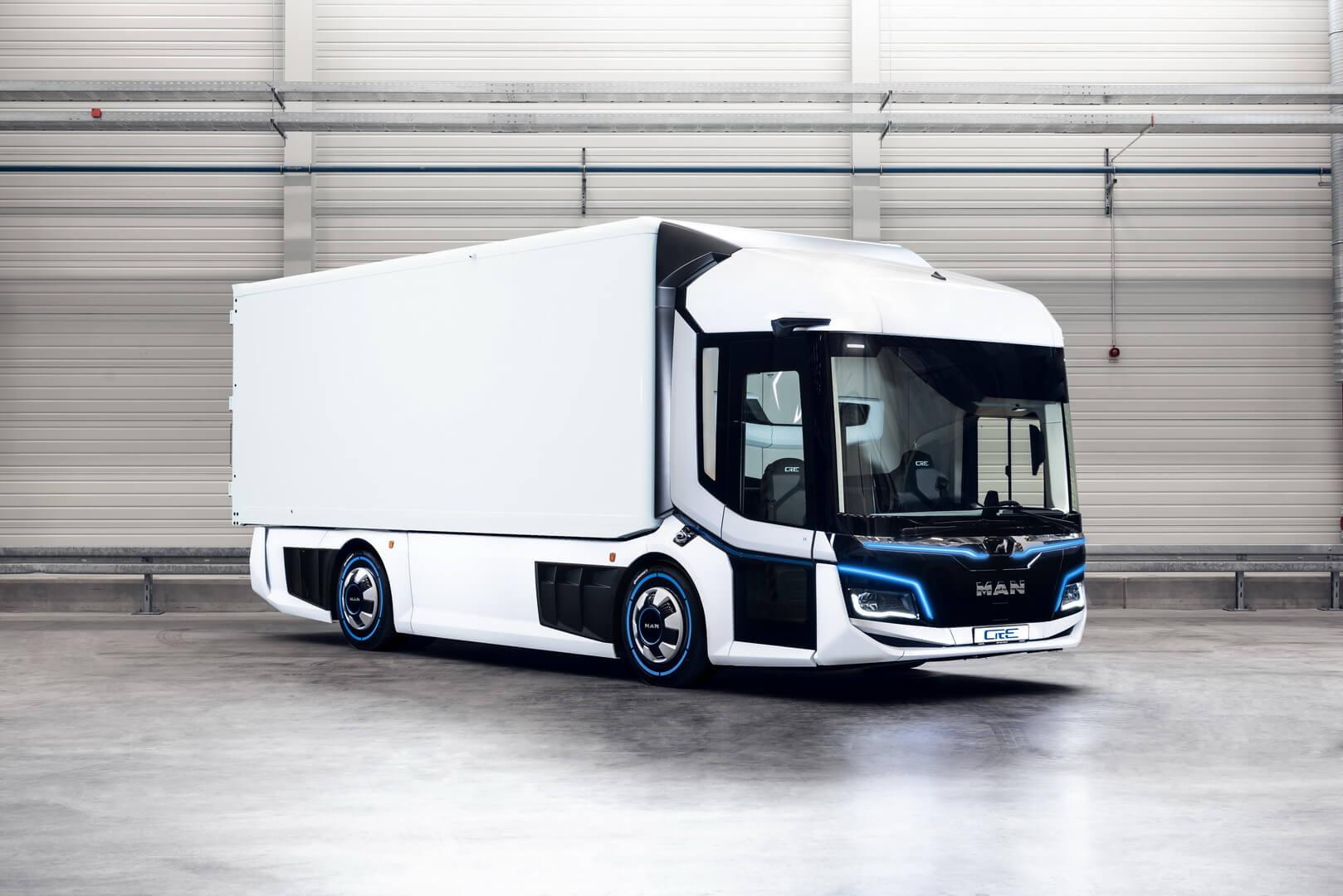 Электрический грузовик MAN CitE