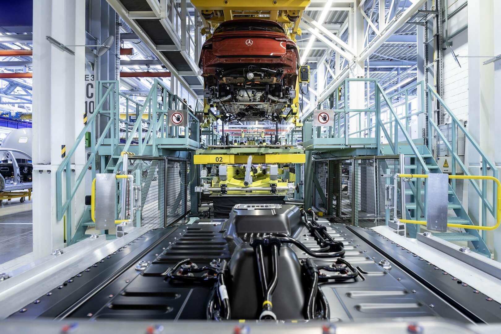 Сборка Mercedes-Benz EQC