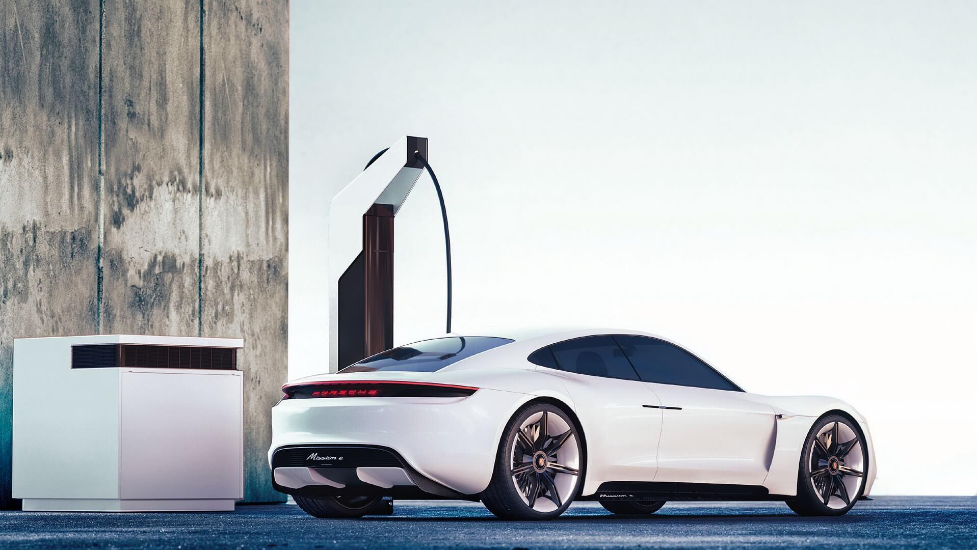 Модульные зарядные станции Porsche «Электрический пит-стоп»