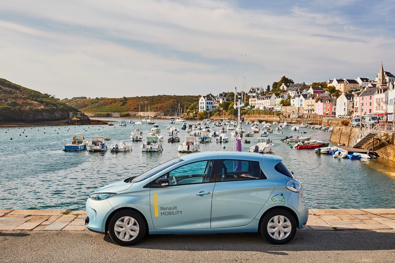 Электрокар Renault ZOE