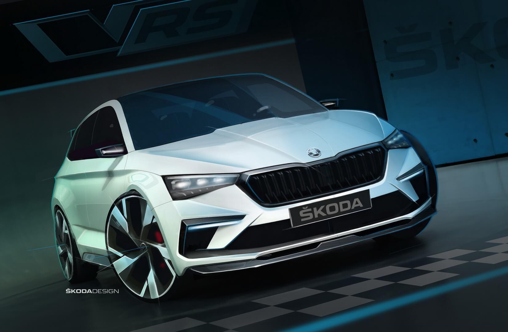 Плагин-гибрид Škoda Vision RS