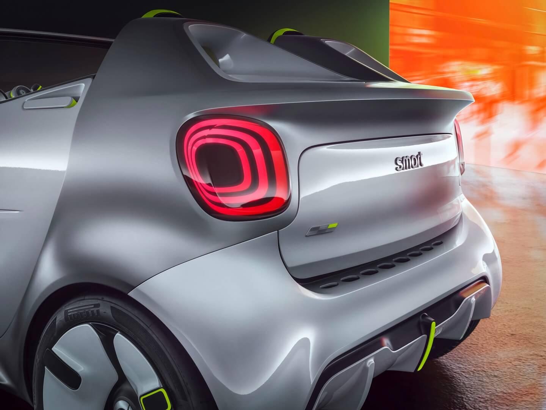 Дизайн электрического кабриолета Smart Forease - фото 2
