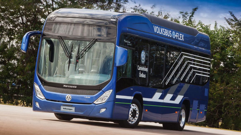 Электрический автобус Volksbus e-Flex