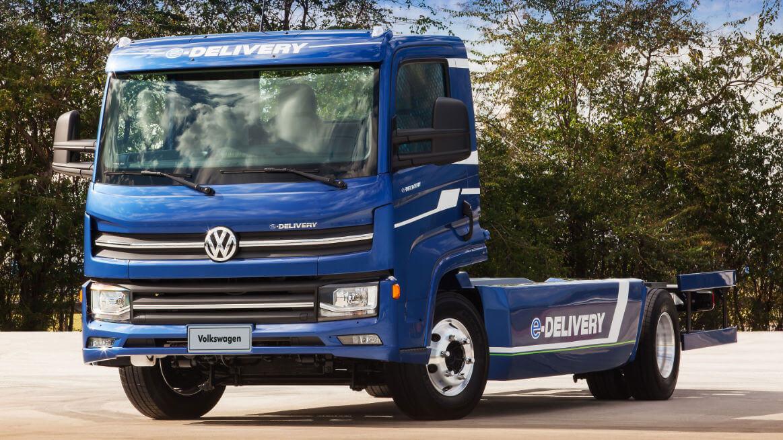 Электрический грузовик Volkswagen e-Delivery